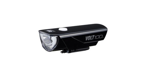 CatEye Volt100 HL-EL150 RC helmlamp zwart